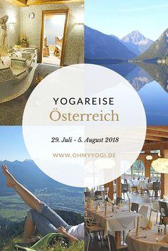 Yoga Urlaub Österreich // Relax Retreat: Hatha Yoga & Wandern // Juli 2018 | Benötigst du eine Auszeit? Dann komm mit in die Berge! Für Einsteiger und Fortgeschrittene dreht sich in dieser Woche alles um Entspannung und Leichtigkeit. Dafür sind Hatha Yoga und Wandern eine tolle Kombination.
