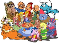 saturday morning cartoons! I remember getting a bowl of smurf berry crunch cereal and watching cartoons. Then played outside all day. the 80's had lots styles many want to forget, but if you were a kid growing up in the 80's you had the time of your life!!!