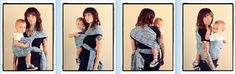 Poppin's Hip Carry / PHC  {from Babywearing 102: Wrapping 360 Project}   ***mid-length wrap carry