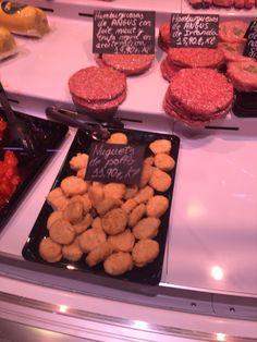 Esto es una foto de nuggets de pollo. Esto es interesante porque encontramos nuggets de pollo en España. Me gusta nuggets de pollo.