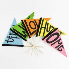 The Pennant Party Box now featured on Fab.