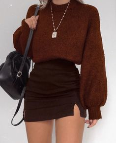 Glamouröse Outfits, Cute Fall Outfits, Winter Fashion Outfits, Retro Outfits, Girly Outfits, Classy Outfits, Look Fashion, Stylish Outfits, Teenager Outfits