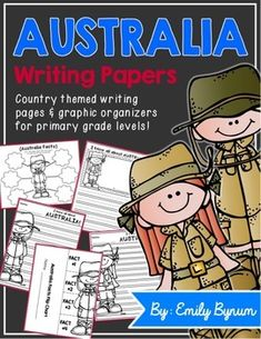 Australia Writing Pages