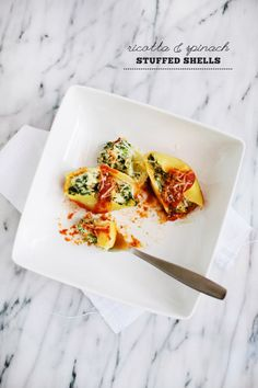 Ricotta & Spinach Stuffed Shells