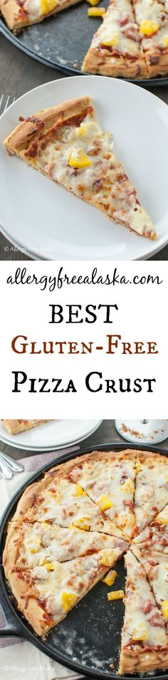 Best Gluten-Free Pizza Crust from Allergy Free Alaska - This crust is amazing!