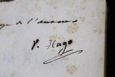 Signature autographe de Victor Hugo