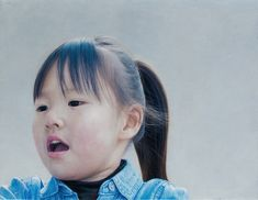 Kai Fine Art is an art website, shows painting and illustration works all over the world. Hiroshima, Hyperrealistic Art, Hyper Realistic Paintings, Japanese Painting, Japanese Artists, Bored Panda, Figure Painting, Boy Or Girl, Contemporary Art