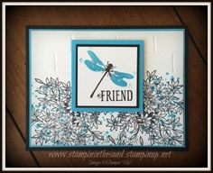 Stampin' in the Sand: Card: Awesomely Artistic Friend. Stampin up
