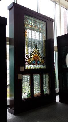 Stained glass museum at Navy Pier Chicago