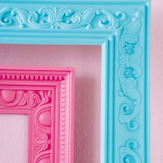 how to: crown-moulding frames