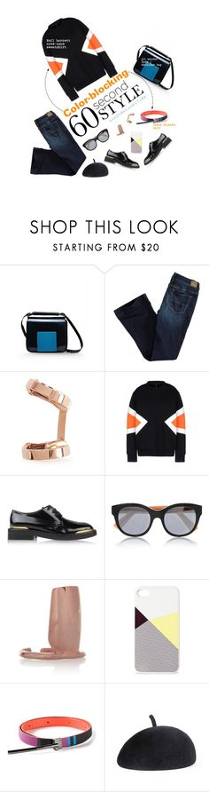 """""""color blocking london"""" by baboushkacouture ❤ liked on Polyvore featuring Jil Sander, American Eagle Outfitters, Repossi, Neil Barrett, Marni, BlissfulCASE, Issey Miyake, Eugenia Kim, polyvorecommunity and museumstyle"""