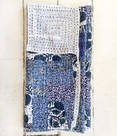 Image of Dosa Patchwork Kantha Scarf