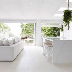 Outstanding kitchen style are offered on our site. look at this and you wont be sorry you did. Three Birds Renovations, Open Plan Kitchen Living Room, Cuisines Design, Küchen Design, Modern Kitchen Design, New Room, Home Renovation, Kitchen Renovations, Home Interior Design