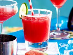 Wassermelonen Margarita Rezept   LECKER