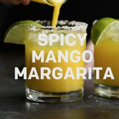 Spicy Mango Margarita with Jalapeño Infused Tequila on @the_feedfeed https://thefeedfeed.com/video/spicy-mango-margarita-with-jalapeo-infused-tequila