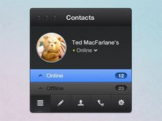 Contacts by Bart Ebbekink