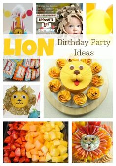 Sprout's LION First Birthday | Inspiration                                                                                                                                                                                 More