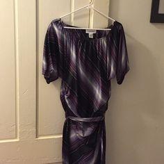 Selling this Calvin Klein satin purple size 6 dress in my Poshmark closet! My username is: stephmoreau. #shopmycloset #poshmark #fashion #shopping #style #forsale #Calvin Klein #Dresses