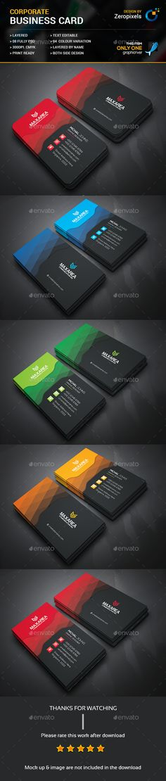 366 best business card design images on pinterest business card buy soft corporate business card by zeropixels on graphicriver features easy customizable and editable business card in with bleed cmyk color design in reheart Images