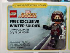 Winter Soldier Promo Details