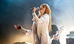 'A megaphone for a larynx': Florence Welch, pictured at the Coachella festival in California, April Photograph: Chelsea Lauren/WireImage Florence The Machines, Florence Welch, Coachella Festival, How Beautiful, America, Concert, Big, Music, Chelsea