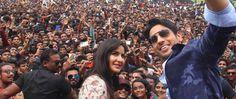 Promoting the movie Baar Baar Dekho in Jaipur: Siddharth Malhotra and Katrina…