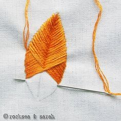 discovered lots of embroidery tutorials