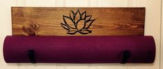 A personal favorite from my Etsy shop https://www.etsy.com/listing/231760781/yoga-mat-holder-handmade-customized-yoga