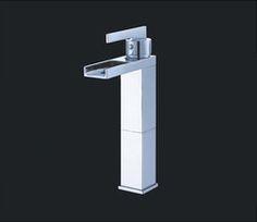 Murcia II Chrome Finish Modern Bathroom Faucet