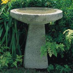 Awesome bee bath Garden In The Woods, Lawn And Garden, Back Gardens, Small Gardens, Catania, Stone Bird Baths, Diy Bird Bath, Garden Projects, Garden Ideas