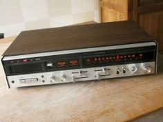 LLOYDS D614 Vintage Stereo Receiver with 8 Track
