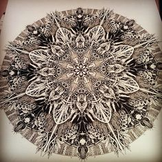 Mandala Designs, inkheartkicks: Mandala illustration ...