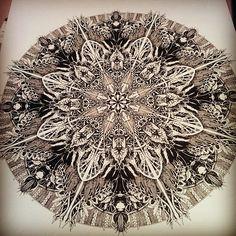 Mandala Designs, inkheartkicks: Mandala illustration ...