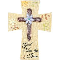 Wall Crosses | Wall Cross - God Bless This Home [WCR-60] - $13.99 : Find Christian ...