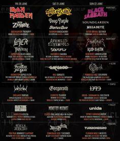 Hellfest 2014 : la programmation