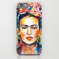 Buy Frida Kahlo by Tracie Andrews as a high quality iPhone & iPod Case. Worldwide shipping available at Society6.com. Just one of millions of products available.