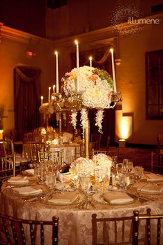 Biltmore Coral Gables wedding lighting amber
