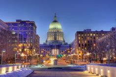 """""""Oh Wonderful Madison mother of cities / Queen of all Dairyland, waiting for me / Wonderful Madison, jewel of Wisconsin / With more than one high school and cable TV"""" - Lou & Peter Barryman"""