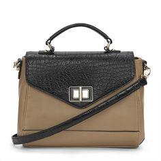 Bags of style...  Croc Trim Tote Bag.