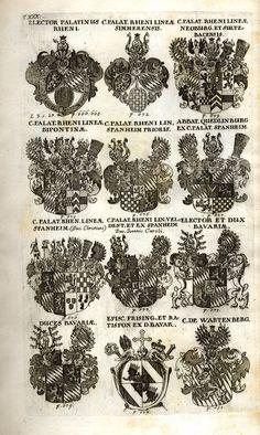 Spener, Philipp Jakob: Historia Insignium Illustrium Seu Operis Heraldici Pars Specialis. - Frankfurt <Main>, 1717. Jpg, Coat Of Arms, Frankfurt, Cactus Plants, Guns, History, Mannheim, Crests, Family Crest