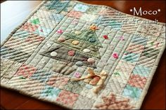 Patchwork * Pink Caramel * I'm terrible at cross-stitch but I LOVE this!