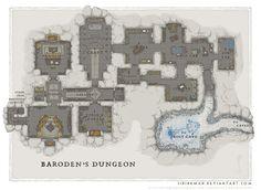 Wizards Academy - Barodens Dungeon by SirInkman on DeviantArt