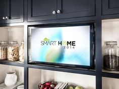The HGTV Smart Home 2014 Smart Swag Giveaway features this 32 inch flat panel TV. Hgtv, House Design, Home, Flat Panel Tv, Smart Home, House Exterior, 32 Inch Tv, Interior Design, Swag Giveaways