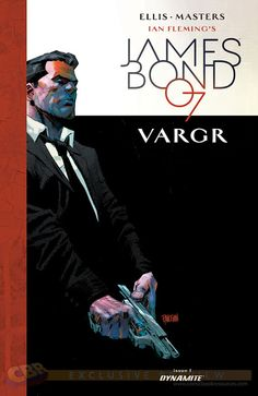 The Book Bond: CBR reveals eight variant covers for VARGR #1
