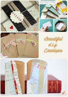diy envolopes | DIY: Envelope oo-la-la