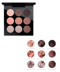 MAC Pre-Made Palettes for Spring 2016 Creating your own bespoke eyes has never been easier. These well-edited Eyes x 9 and Eyes x 15 palettes feature a wav