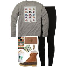 A fashion look from November 2014 featuring NIKE leggings, River Island socks and Tory Burch wallets. Browse and shop related looks.