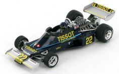 Model of the Ensign Cosworth N176 as driven to 10th place in the 1976 Italian Grand Prix by Jacky Ickx.