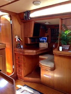 Beautiful, clean boat interiors help sell any boat faster and for a higher sell price.