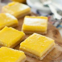 Lemon Bars Recipe (Paleo, Clean Eating, Gluten Free) Recipe Desserts with almond flour, tapioca starch, salt, honey, butter, eggs, egg yolks, honey, fresh lemon juice, salt, butter, coconut milk